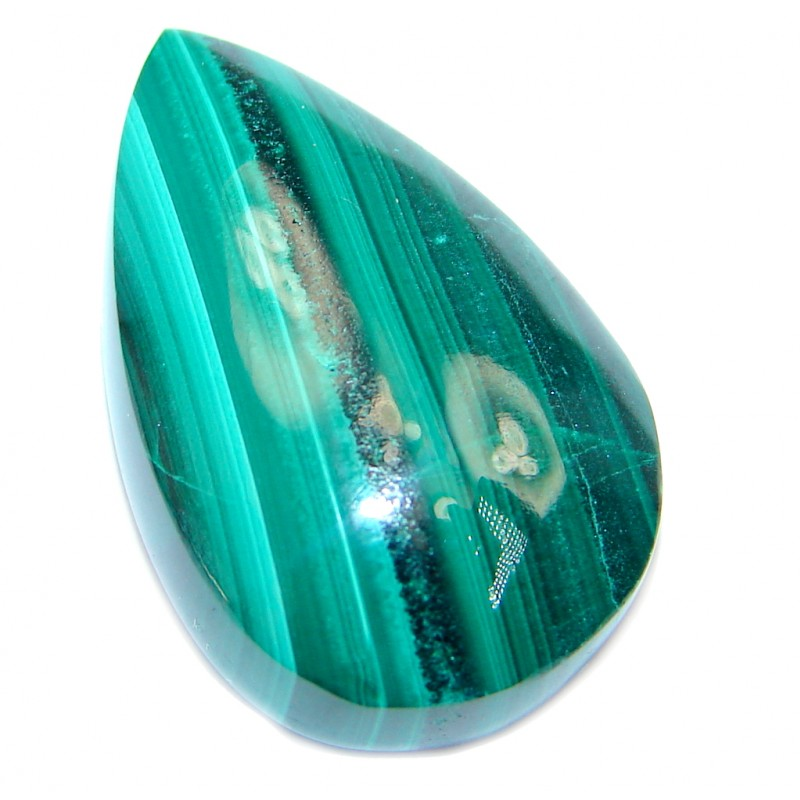AAA Green Malachite 35.5ct Stone