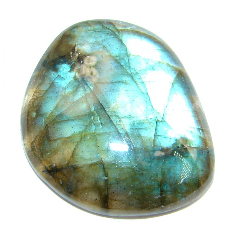 Natural AAA Fire Blue Labradorite 36.5 ct Stone