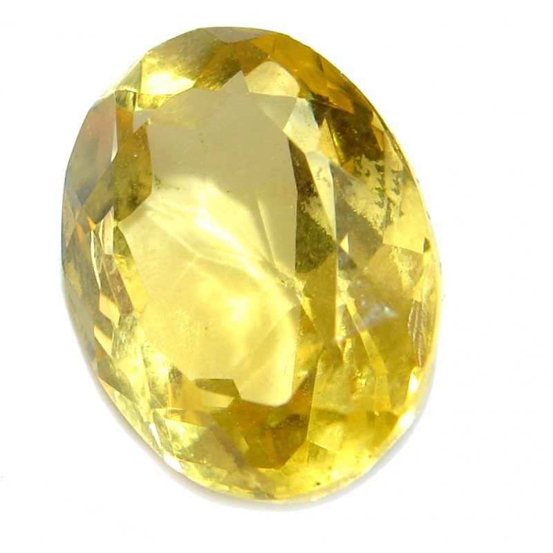 Oval cut Citrine 9ct. Stone