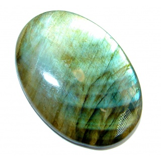 Natural AAA Fire Blue Labradorite 35.5 ct Stone