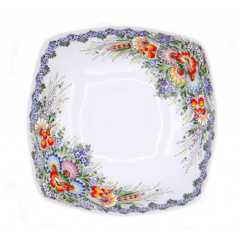 Entirely Hand painted Porcelain Bowl