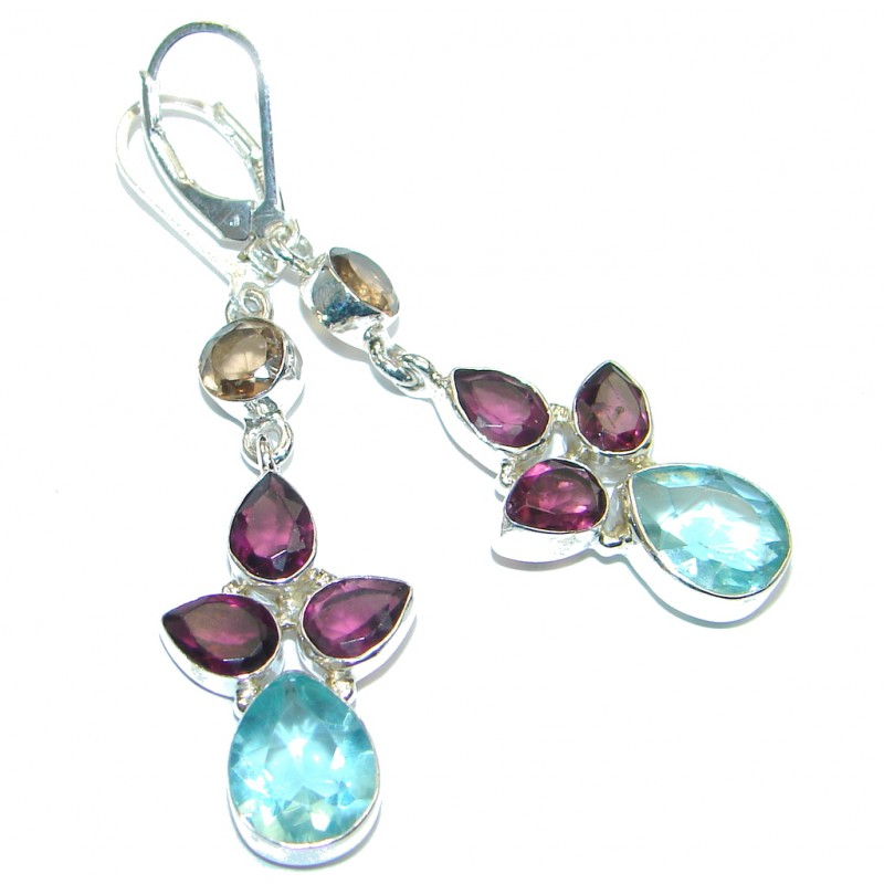 Sublime Quartz Sterling Silver earrings