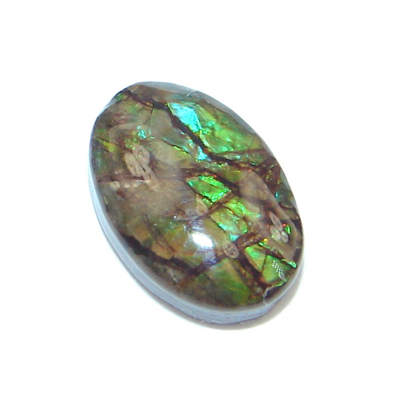 Natural Canadian Dragon's Skin Ammolite 3.1ct Stone