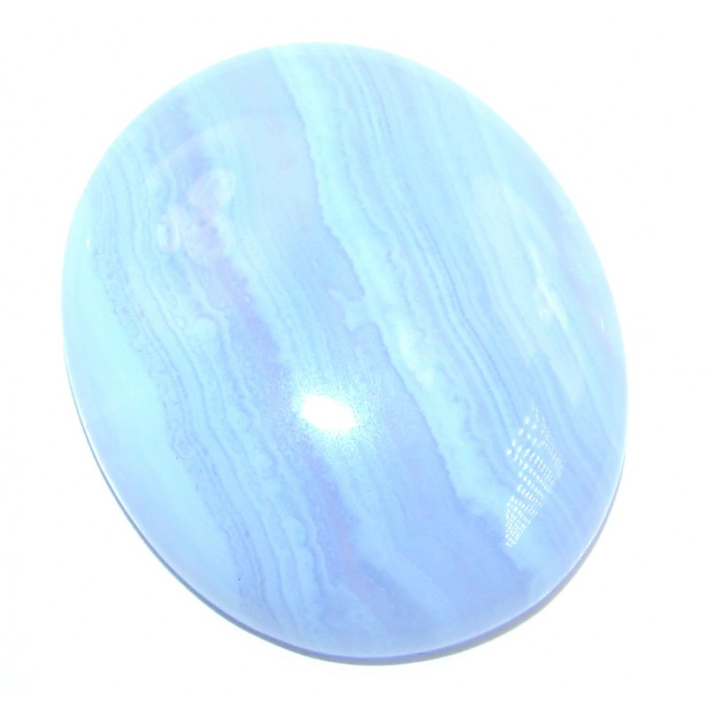 Natural Blue Botswana Lace Agate 32.5ct Stone