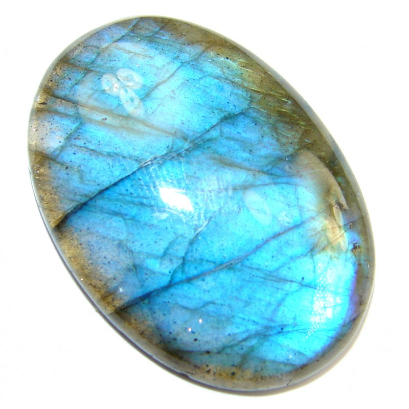 Natural AAA Fire Blue Labradorite 82.5 ct Stone