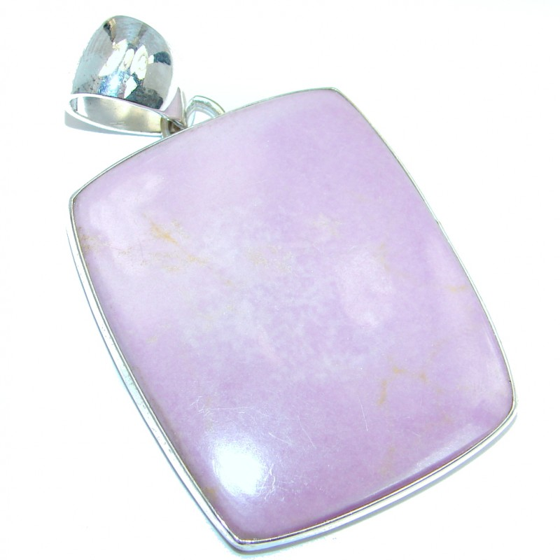 Incredible Sugilite Granet Gold over Sterling Silver handmade Pendant