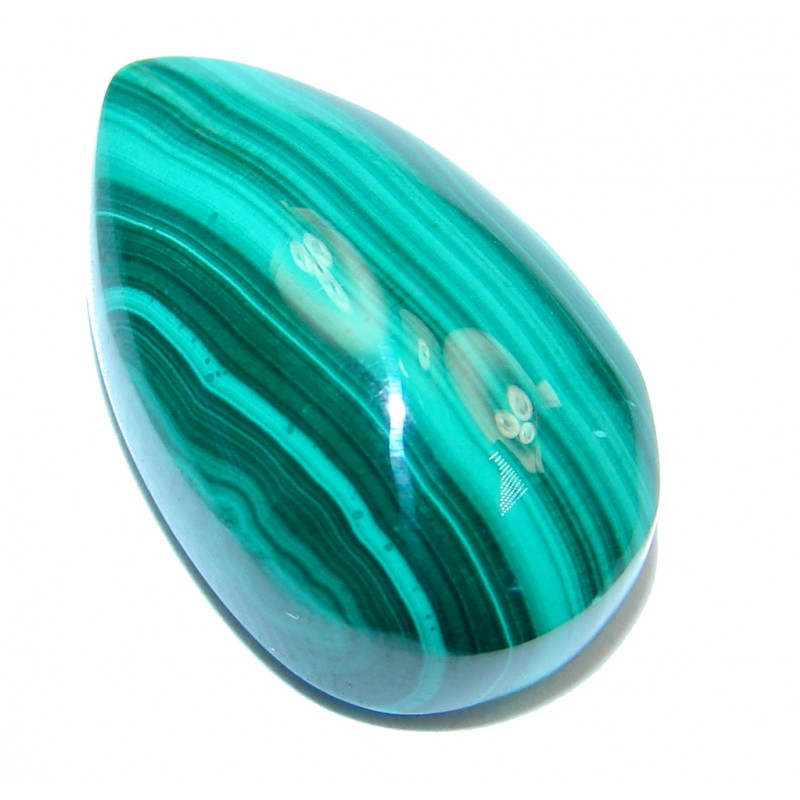 Genuine Green Malachite 35.5ct Stone