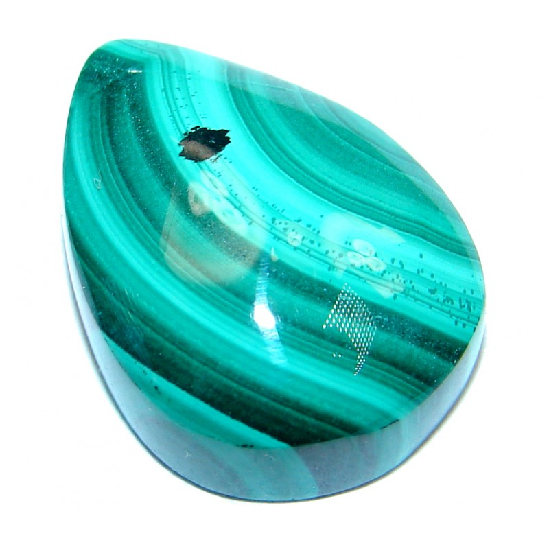 Genuine Green Malachite 20.5ct Stone
