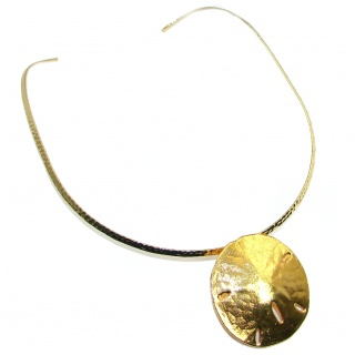 Future Italy Made Gold Plated over Sterling Silver Necklace