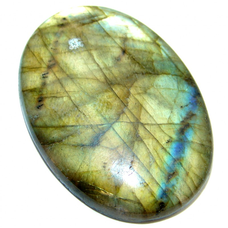 Natural Fire Blue Labradorite 25.5 ct Stone