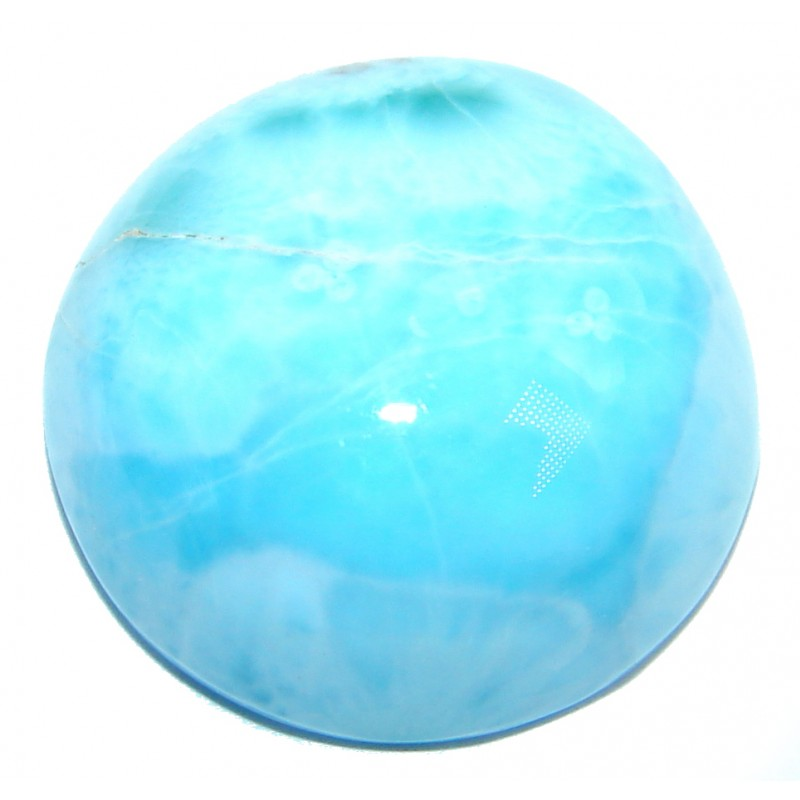 Natural Blue Larimar from Dominican Republic 22.5 ct Stone