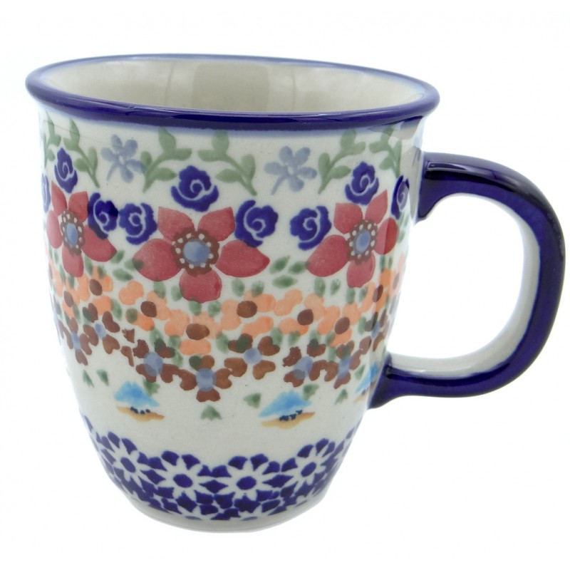 SilverrushStyle - Polish Pottery Coffee Mug - Marigolds Collection