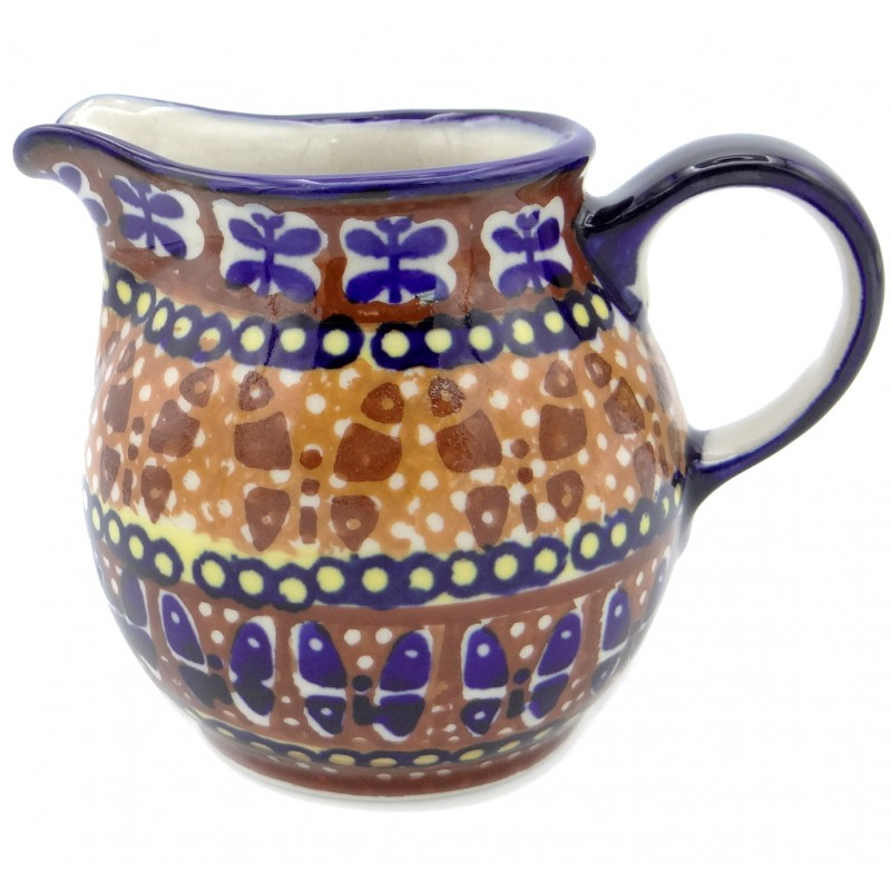 SilverrushStyle - Polish Pottery Creamer - Butterfly Collection