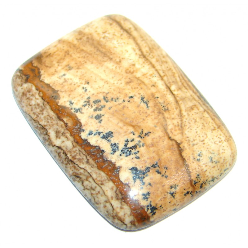 Excellent Brown Picture Jasper 25.5Ct Stone