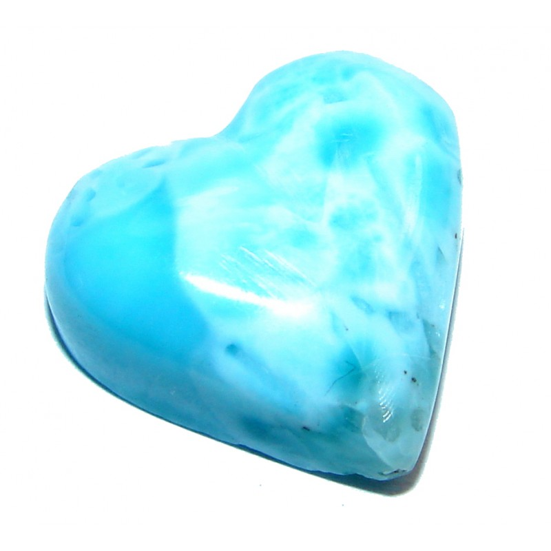 Natural Blue Larimar from Dominican Republic 40.5 ct Stone