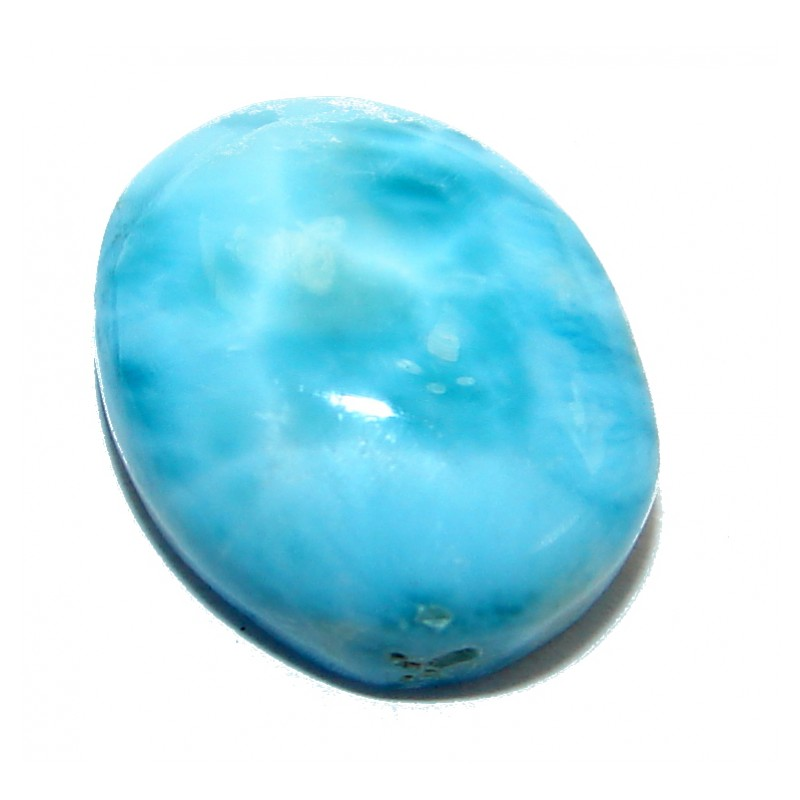 Natural Blue Larimar from Dominican Republic 6.5 ct Stone