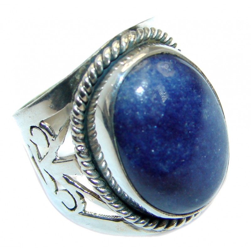 Neptun Irresistible Blue Sodalite Sterling Silver Ring s. 6
