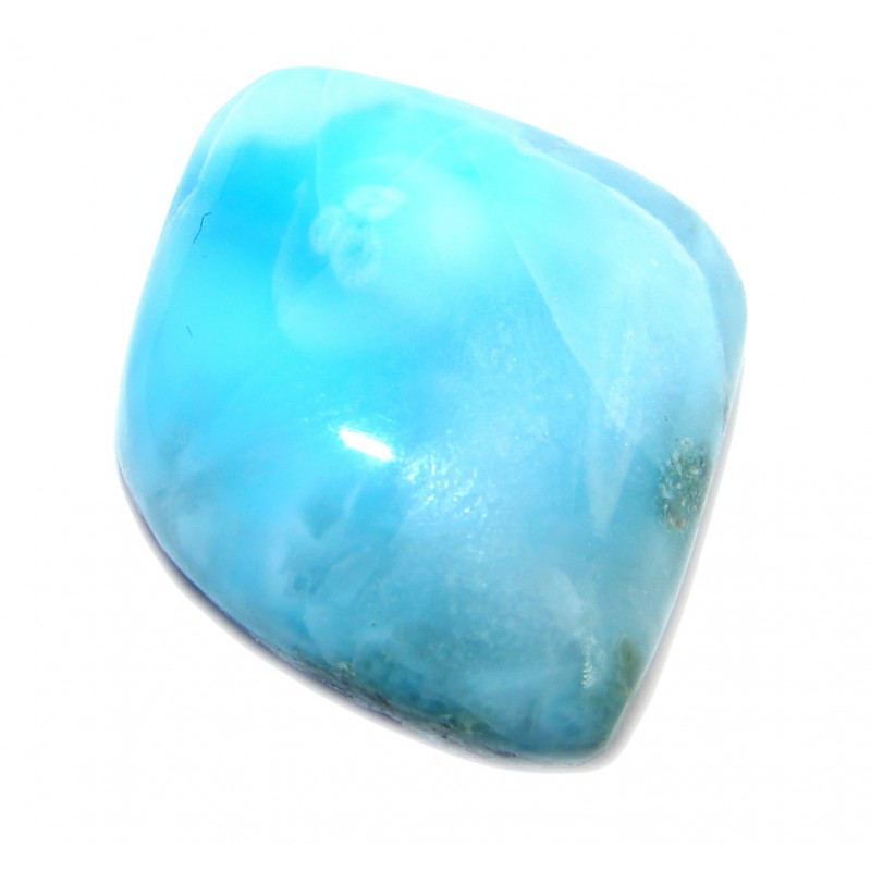 Natural Blue Larimar from Dominican Republic 20.6 ct Stone
