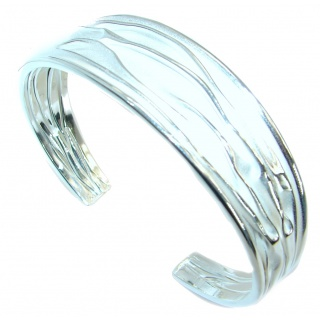 Real Treasure .925 Sterling Silver handcrafted Italian Bracelet