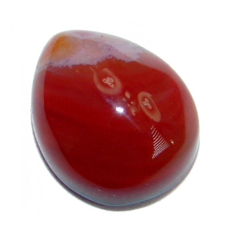 Simple Orange Carnelian 5 ct Stone