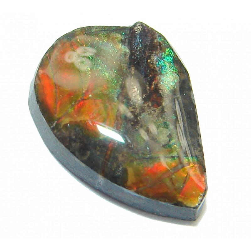 Natural Canadian Dragon's Skin Ammolite 5ct Stone