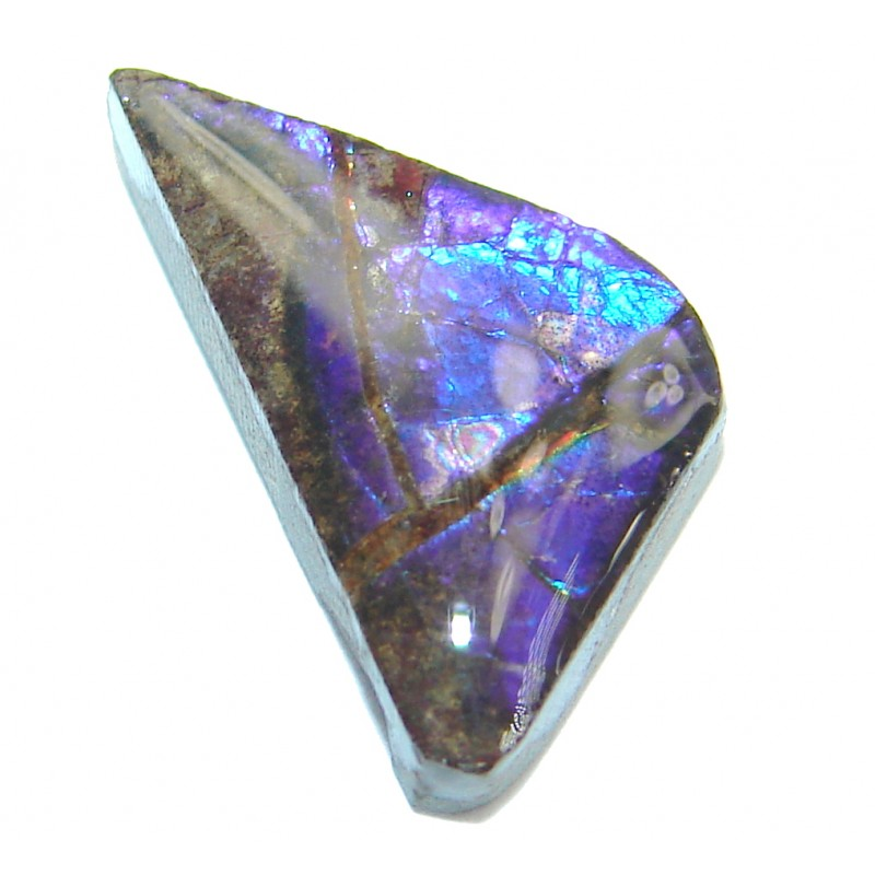 Natural Canadian Dragon's Skin Ammolite 4.5ct Stone