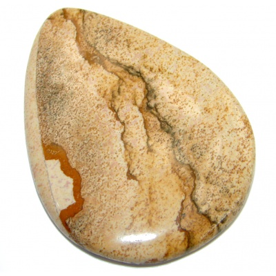 Excellent quality Brown Picture Jasper 67.5Ct Stone