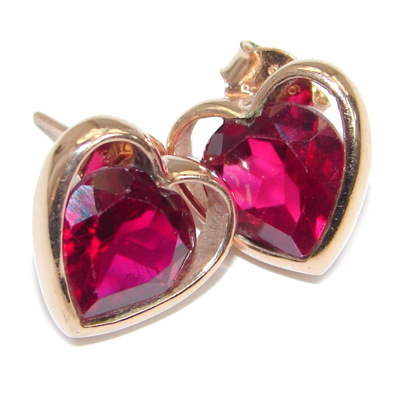 True Feelings Topaz .925 Sterling Silver handcrafted earrings
