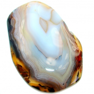 Natural Botswana Lace Agate 110.6ct Stone