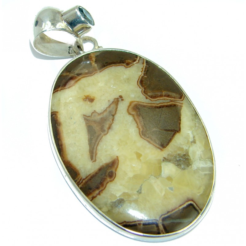 Bali Secret Septerian .925 Sterling Silver handcrafted Pendant