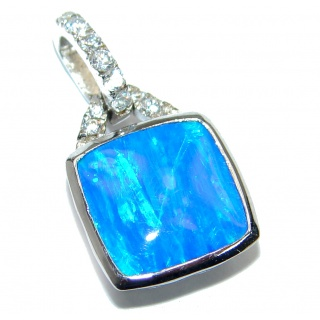Great Cubic Zirconia .925 Sterling Silver Pendant