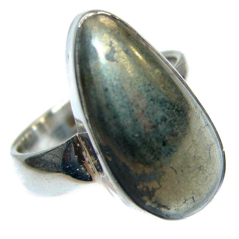 Copper .925 Sterling Silver handmade Ring s. 7 1/4