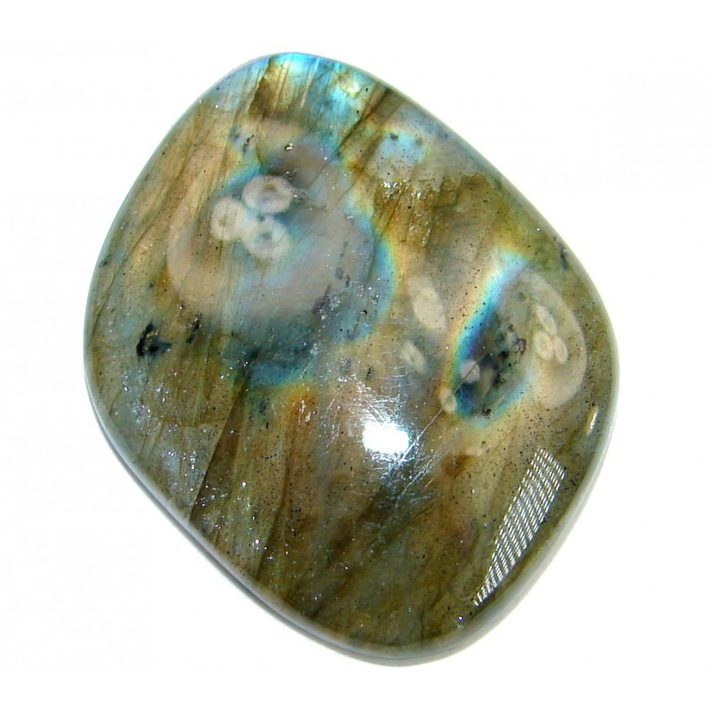 Blue Fire Labradorite stone 35.55 ct