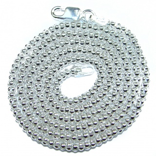 Coreana Sterling Silver Chain 20'' long, 3 mm wide