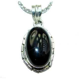 Genuine Onyx Stone .925 Sterling Silver handcrafted Necklace