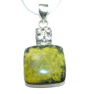Sublime Atlantisite .925 Sterling Silver handmade necklace