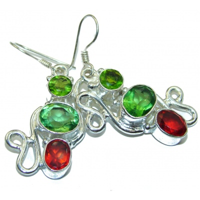 Fantastic Quartz .925 Sterling Silver earrings