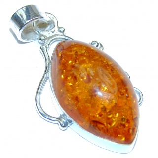 Copal .925 Sterling Silver Pendant