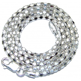 Coreana .925 Sterling Silver Chain 16'' long, 3 mm wide