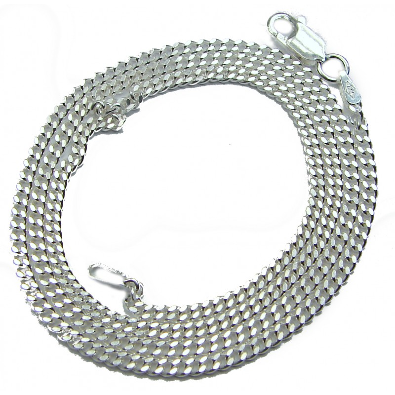 .925 Sterling Silver Chain 18'' long, 2 mm wide