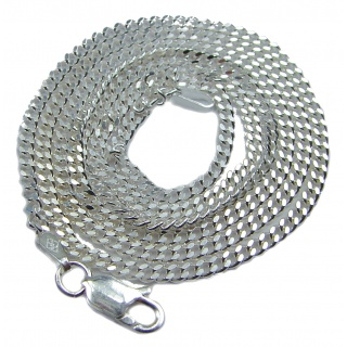 .925 Sterling Silver Chain 18'' long, 3 mm wide