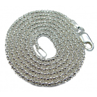 Coreana .925 Sterling Silver Chain 20'' long, 2 mm wide