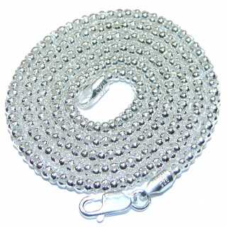 Coreana .925 Sterling Silver Chain 22'' long, 4 mm wide