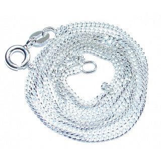 .925 Sterling Silver Chain 22'' long, 1 mm wide