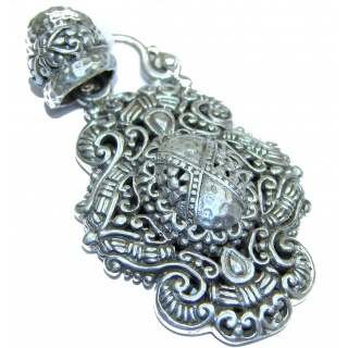 Universe Bali made .925 Sterling Silver handmade Pendant