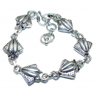 Bali Made .925 Sterling Silver handcrafted Bracelet