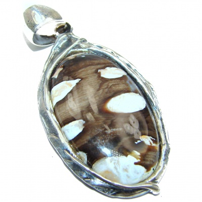 Huge Best quality Genuine Septerian .925 Sterling Silver handcrafted Pendant