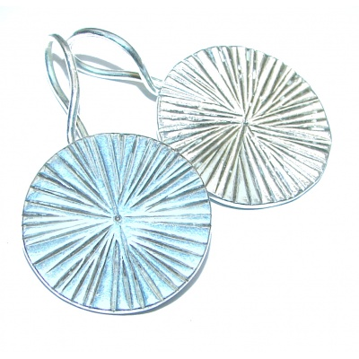 Vintage Style .925 Sterling Silver handmade earrings