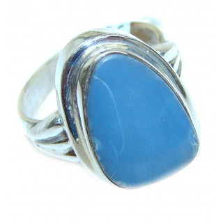 Vintage Design Australian Opal .925 Sterling Silver handcrafted ring size 9