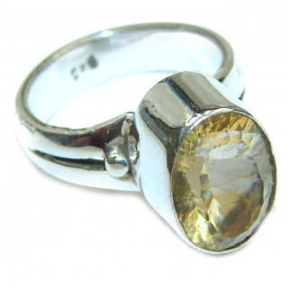 Awesome Natural Magic Topaz .925 Silver Ring size 8 1/4